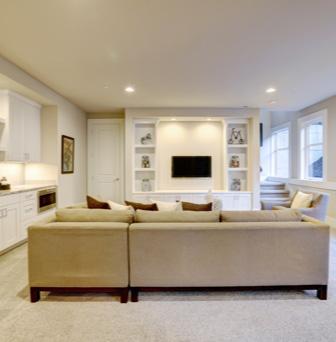 Magnolia basement renovation