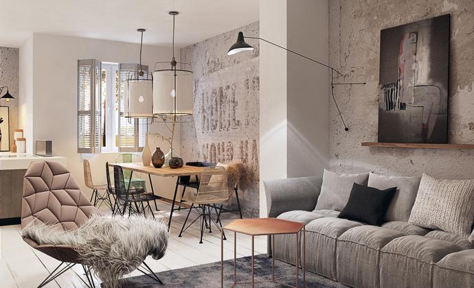 Magnolia living room renovation