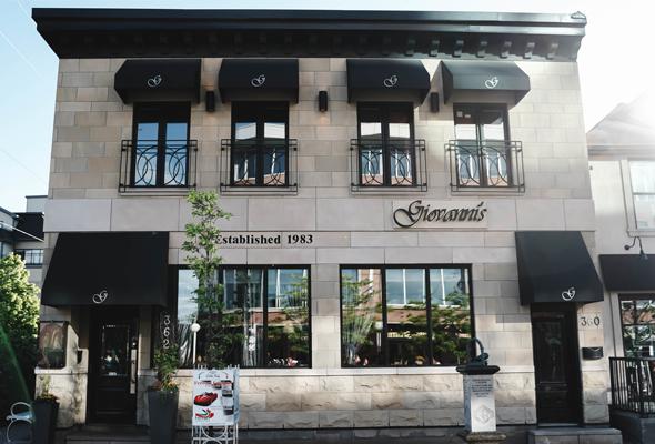 Giovannis Ottawa exterior