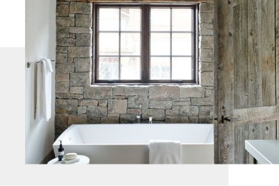 renovated bathroom by Magnolia Design